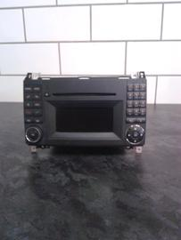 MERCEDES-BENZ A-KLASSE W169 FACELIFT RADIO AUTORADIO MODEL MF2830 A1698705794
